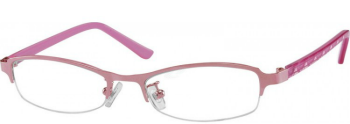Zenni optical eye glasses pink