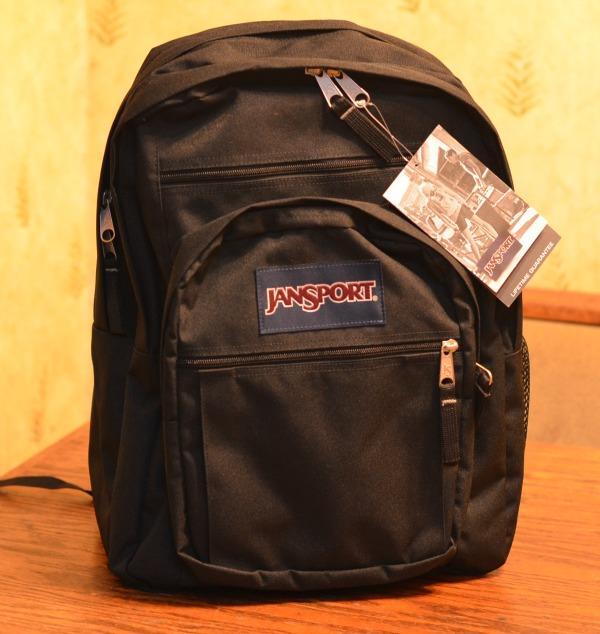 Black Jansport Backpack