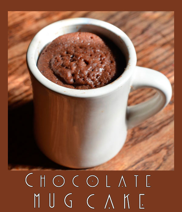 Chocolate Mug Cake from microwave