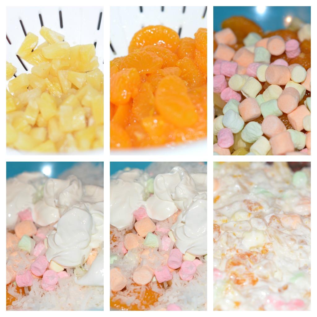 Marshmallow Fruit Salad Recipe