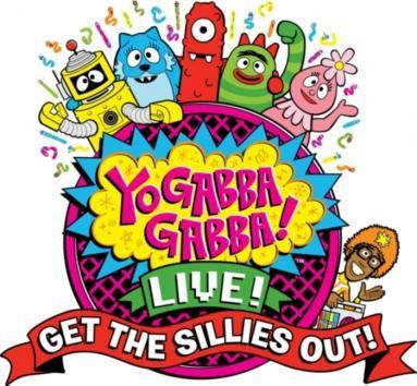 Yo Gabba Gabba Get The Sillies Out Live Tour Logo