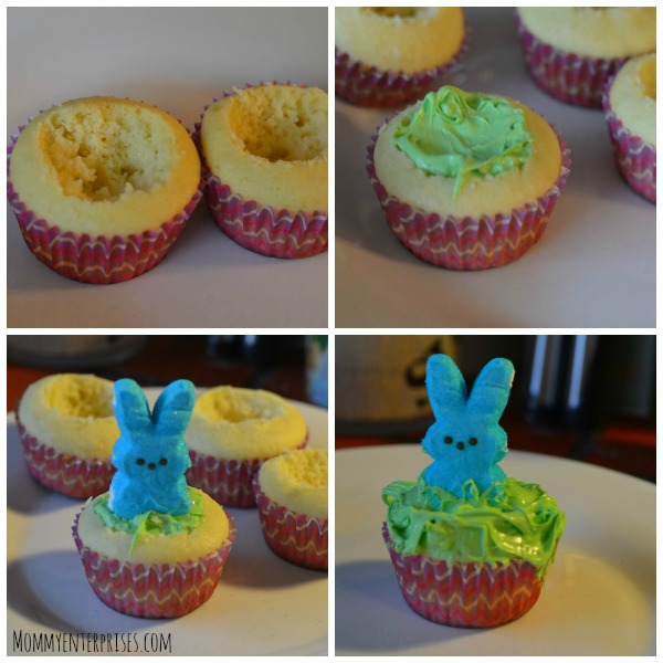 Photo of how to make filled cupcakes