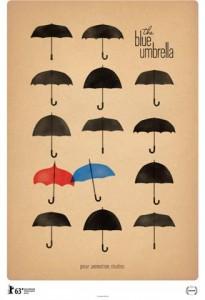 The Blue Umbrella Poster Image