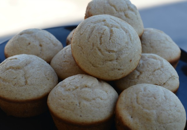 Snicker Doodle Muffins On Plate