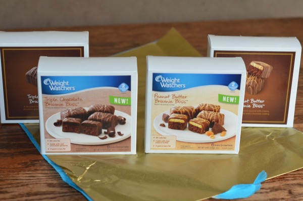 Weight Watchers Brownie Bliss Bars