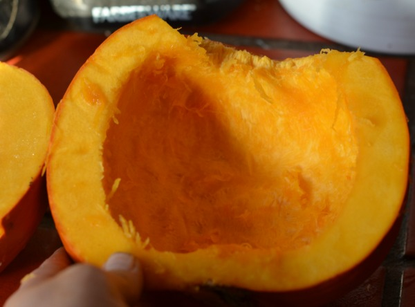 Fresh cut pumpkin #shop