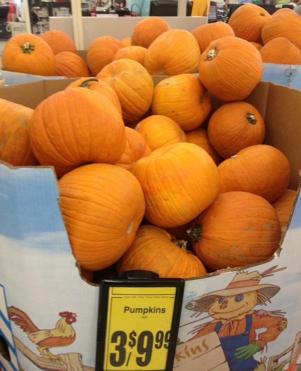 Pumpkins at Save Mart #shop