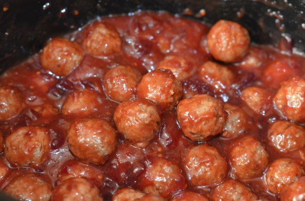 meatballs in crockpot