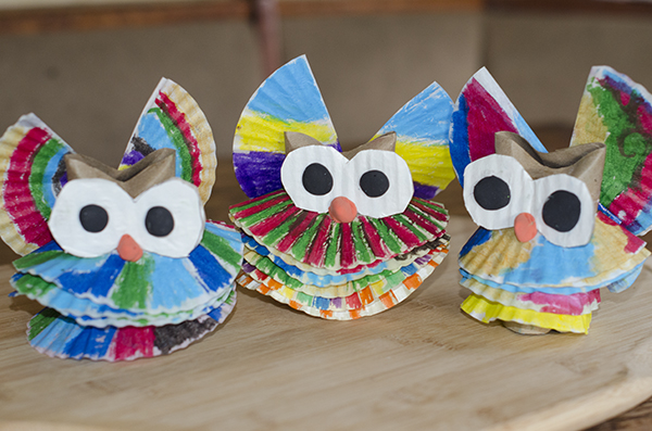 Owl Christmas Craft