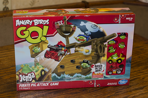 Angry Birds Go! Jenga Pirate Pig Attack Game Review - Mom's Blog