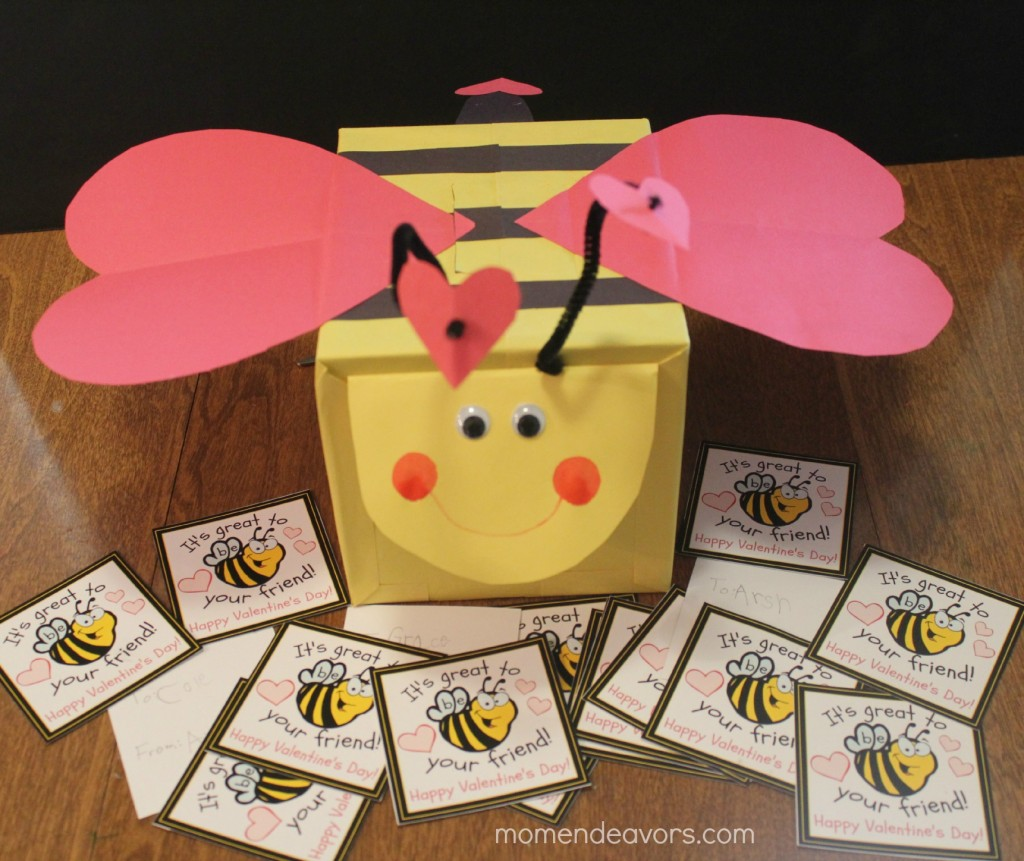 Bee Valentine Box