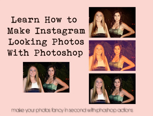 How To Make Instagram Photos With Photoshop