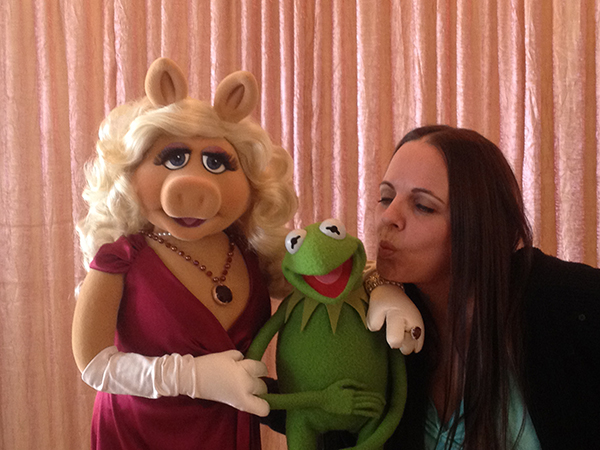 Kermit, Miss Piggy & Constantine Interview