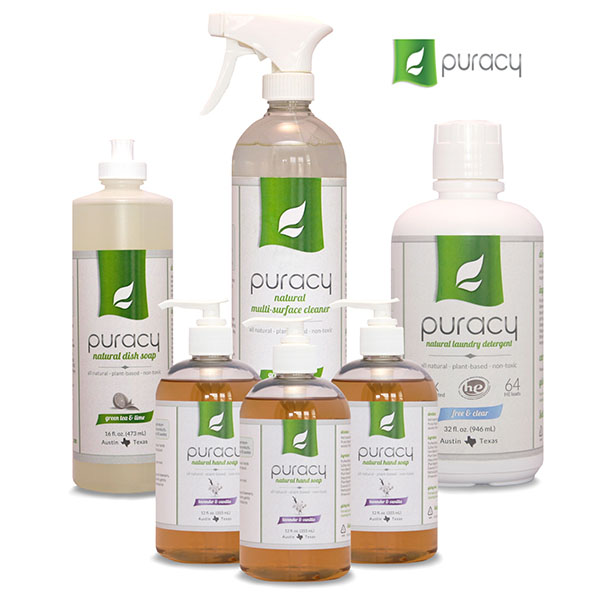 Puracy Natural Cleaning Products Review - Mom's Blog
