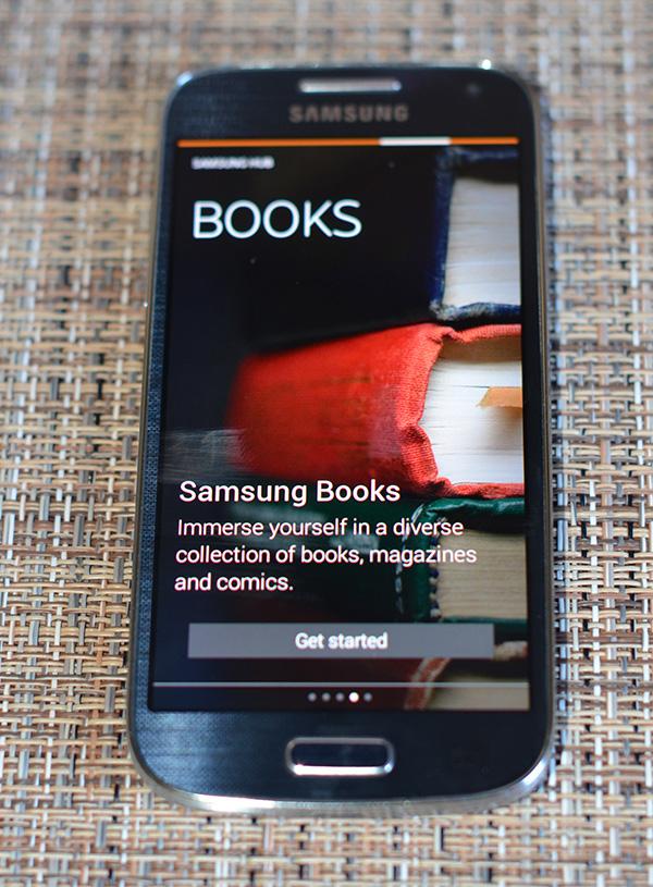 Samsung Galaxy S4 Mini Books Hub