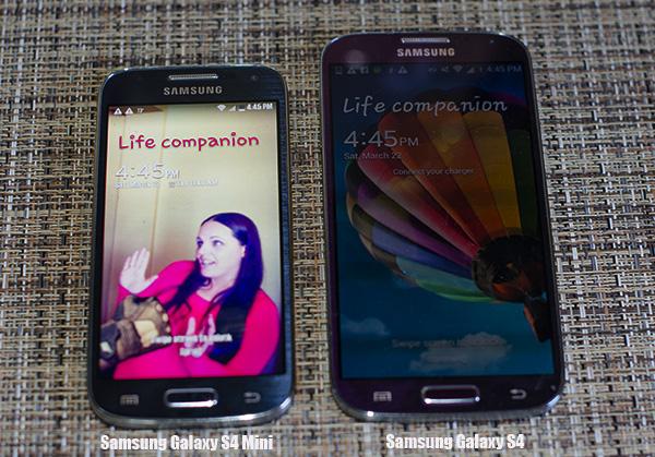 Samsung Galaxy S4 Mini vs Galaxy S4