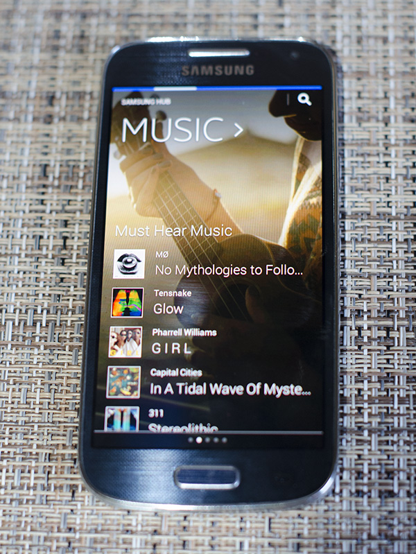 Samsung Hub Music