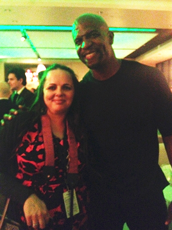 Terry Crews Muppets Most Wanted After Party