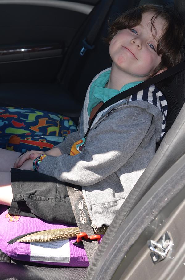 Bubble Bum Car Booster Seat