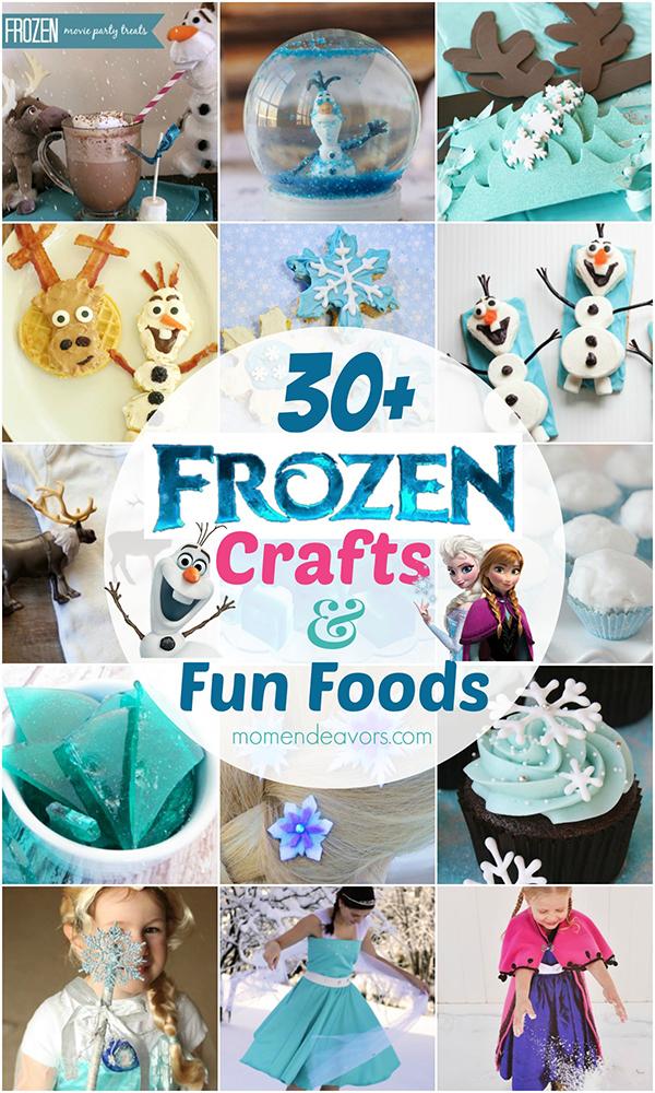 Disney Frozen Crafts and Foods