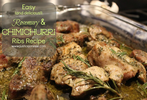 Rosemary & Chimichurri Ribs