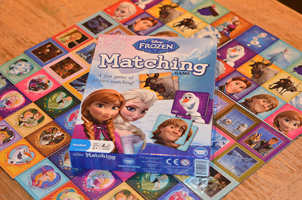 Disney Frozen Matching Game from Wonder Forge
