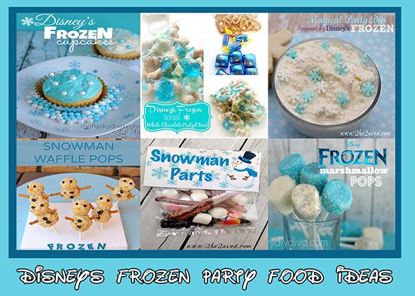 Disney's Frozen Party Food Ideas