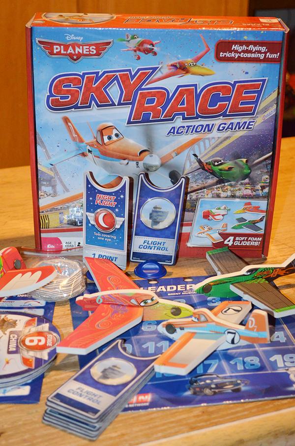 Disney Plane Sky Race