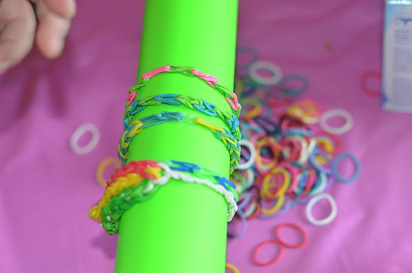 Loom bracelet on Loom Boom