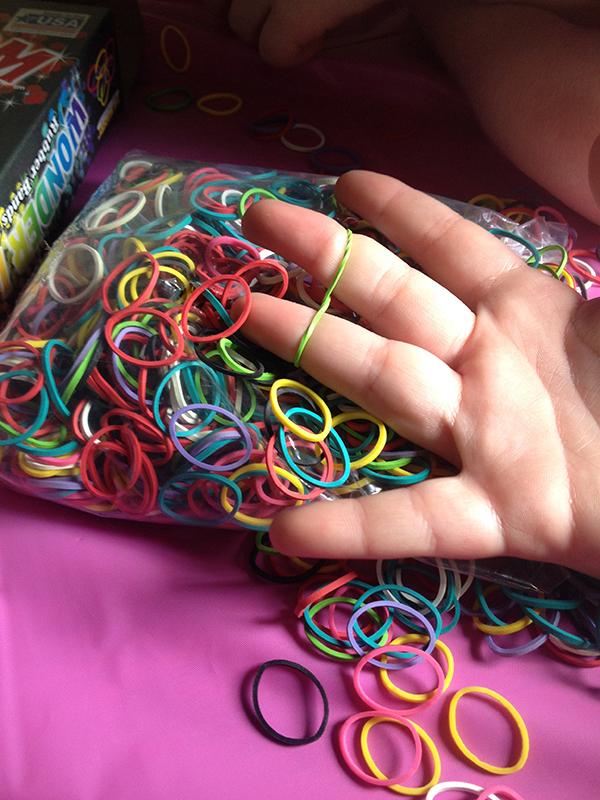 Making Loom Bracelets