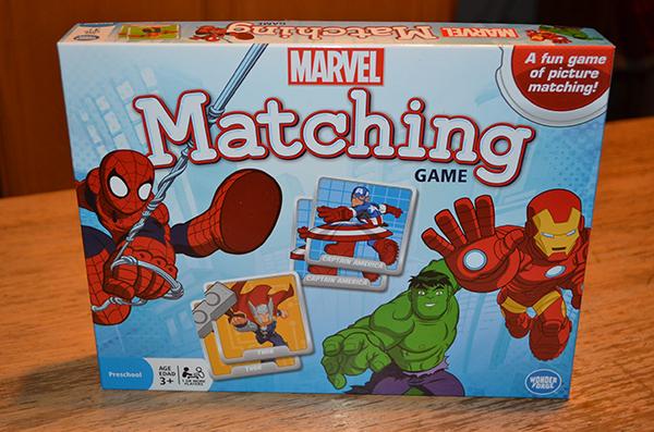 Marvel Matching Game - Wonder Forge