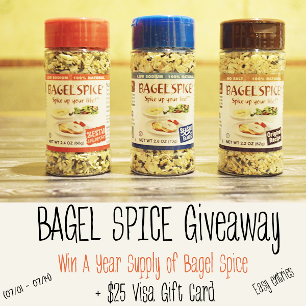 Bagel Spice Giveaway