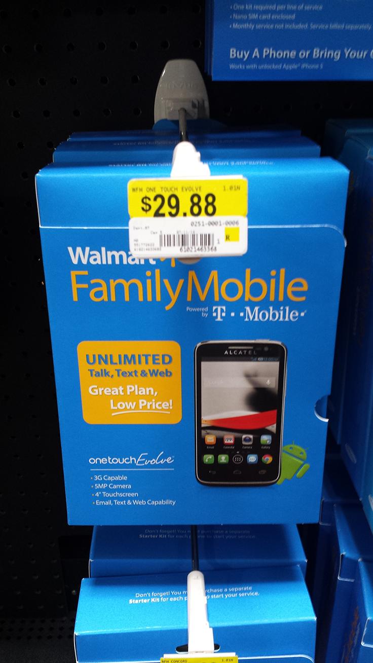 walmart family mobile phones unlocked for t mobile