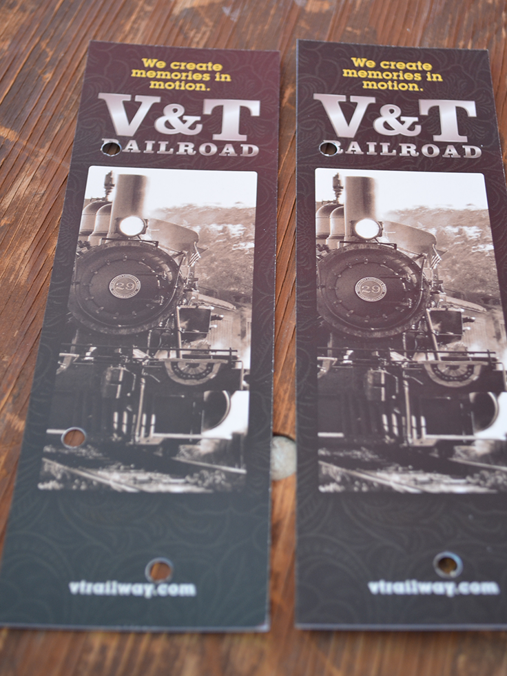 V&T Railroad - Murder Mystery Train Tickets
