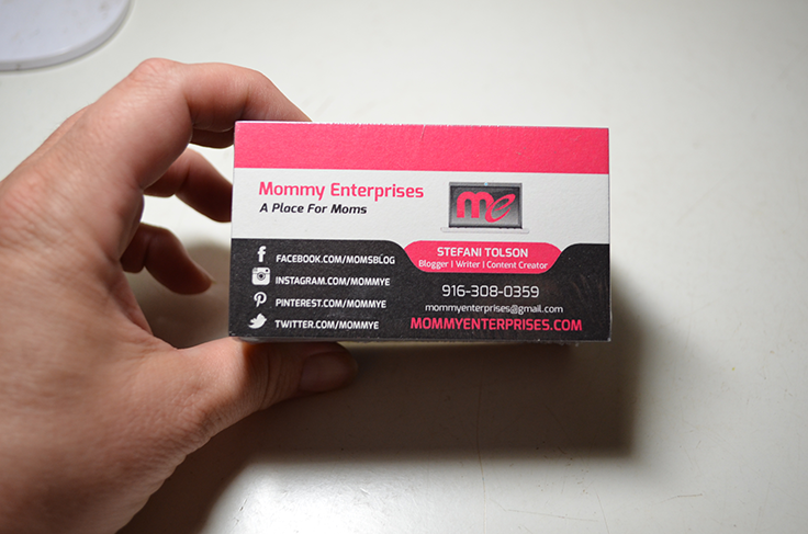 Pretty Business Cards From Oubly