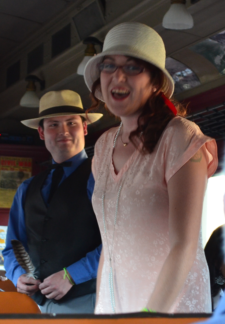 Rose Montague & Elliot Hathaway - Murder Mystery Dinner Train