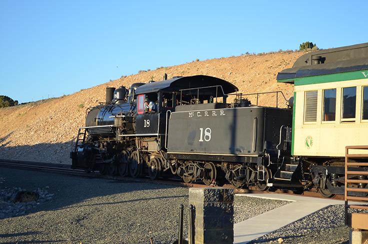 V&T Railroad - Carson City