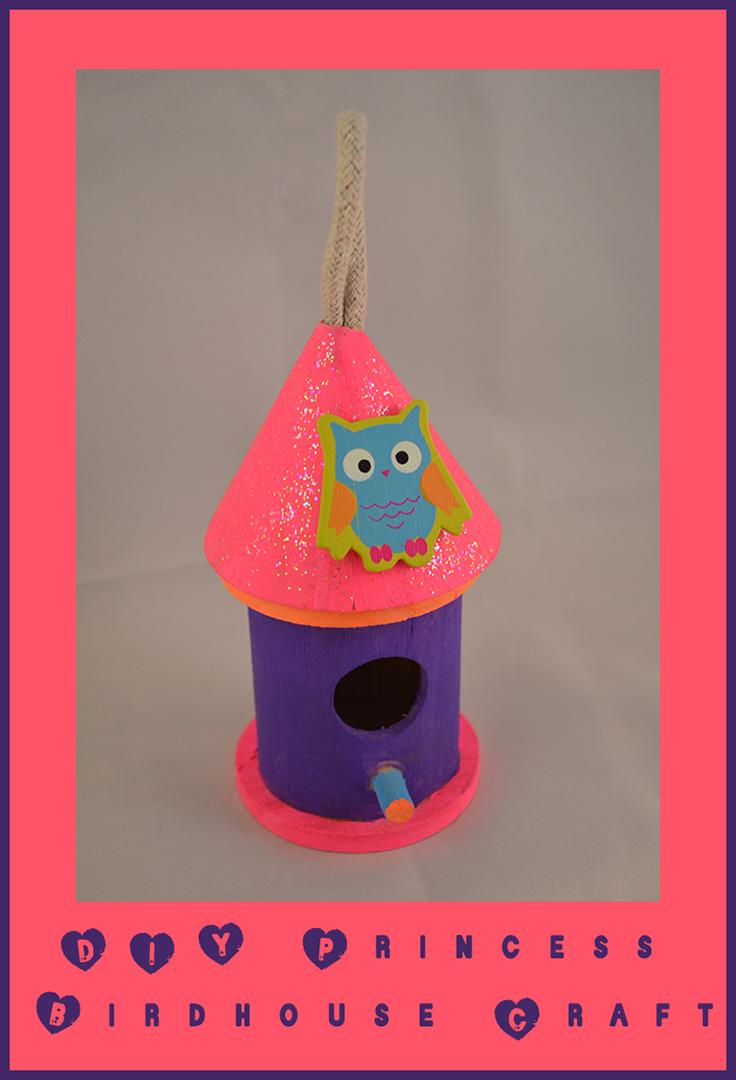 DIY Princess Birdhouse Craft