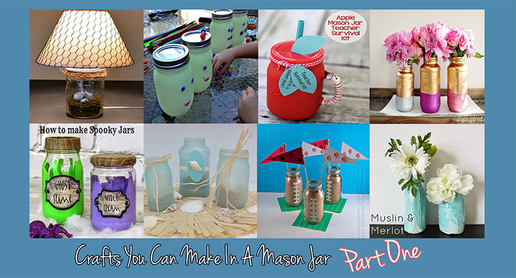 crafts you can make in mason jars