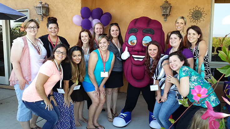 #SnackToSchoolParty Blogger Group Photo