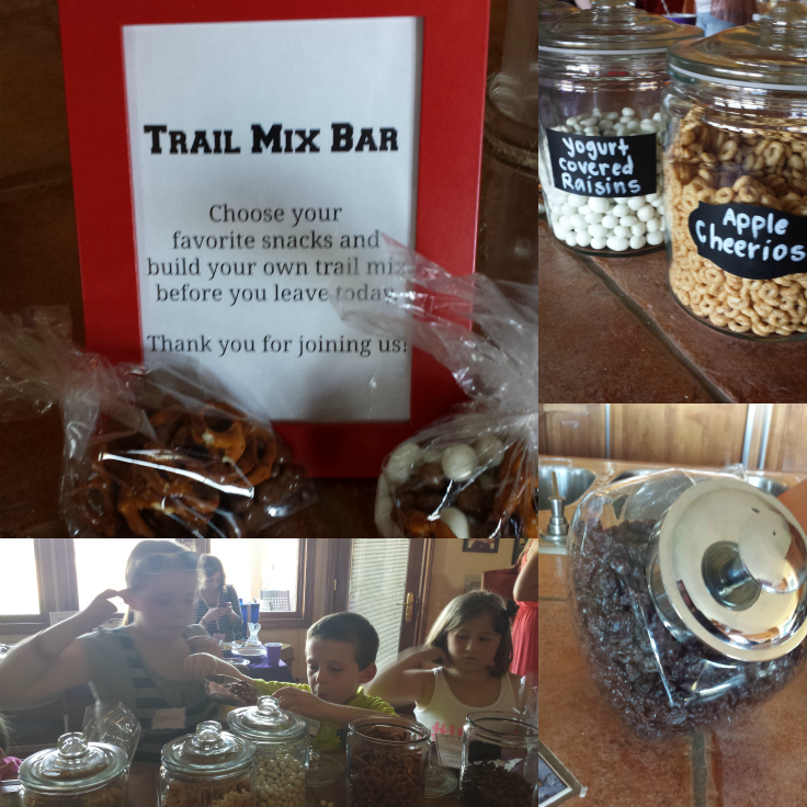 Trail Mix Bar - #SnackToSchoolParty