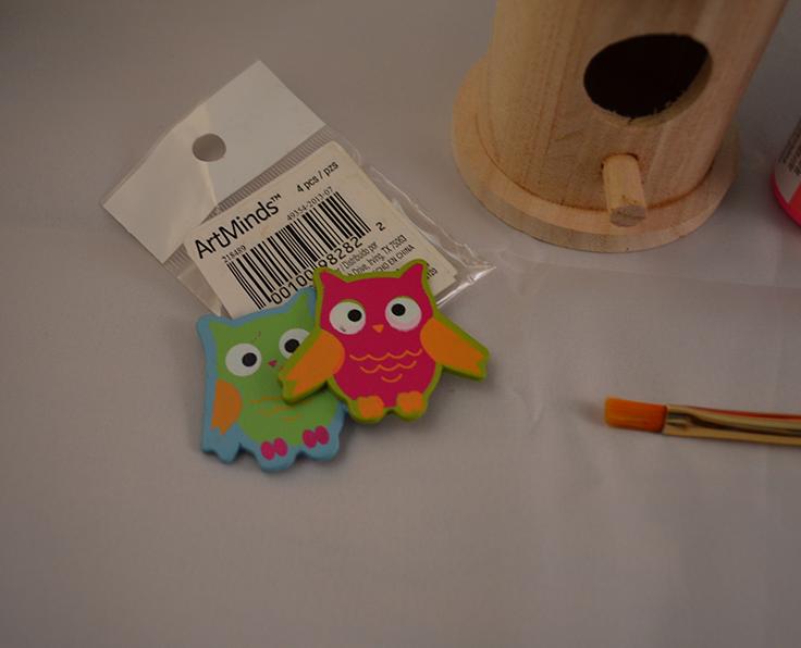 wood owls at Michaels