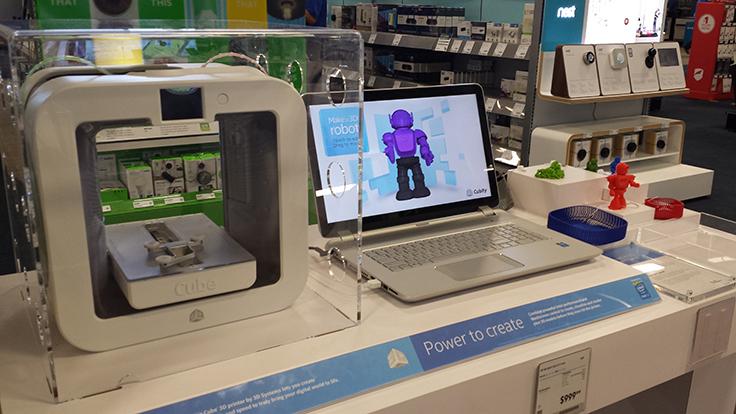Intel Experience - Best Buy- 3D printer