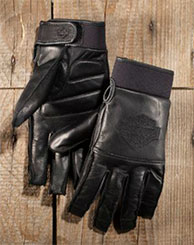 Harley Davidson Men's Valve Full-Finger Gloves