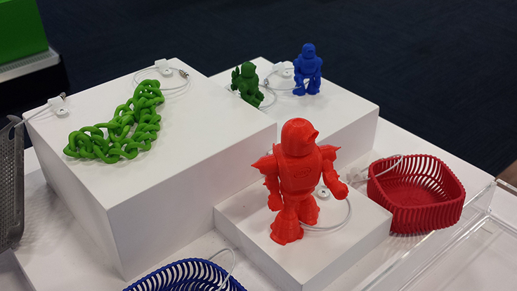 Robot from 3D printer - #IntelatBestBuy