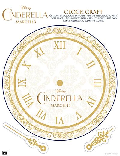 Cinderella-clock-activity