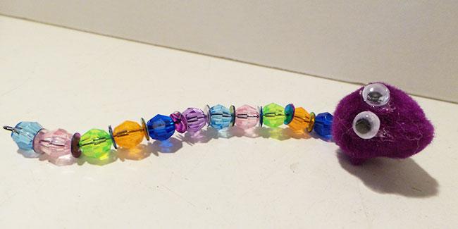 Beaded Caterpillar Craft