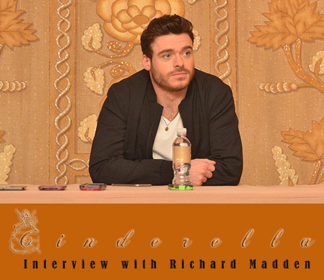 Interview with Richard Madden for Cinderella
