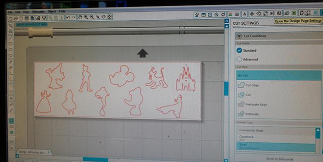 Disney Silhouette Cameo Design