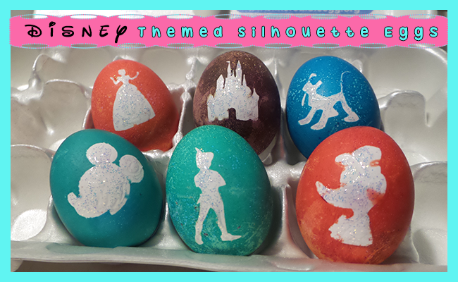 Disney Themes Silhouette Easter Eggs